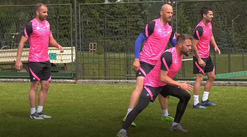 Fudbaleri Kolubare na pripremama na Zlatiboru