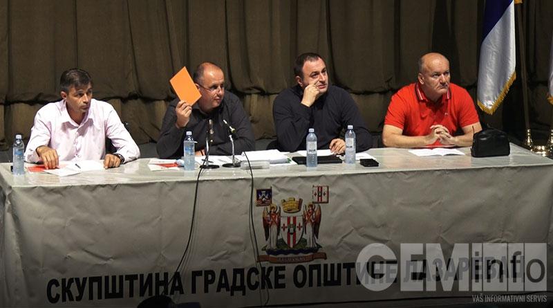 Osma sednica Skupštine GO Lazarevac