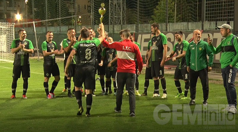 Slavlje fudbalera Radničkog iz Rudovaca
