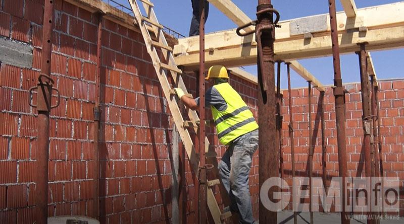 Radovi naizgradnji kapele u Brajkovcu