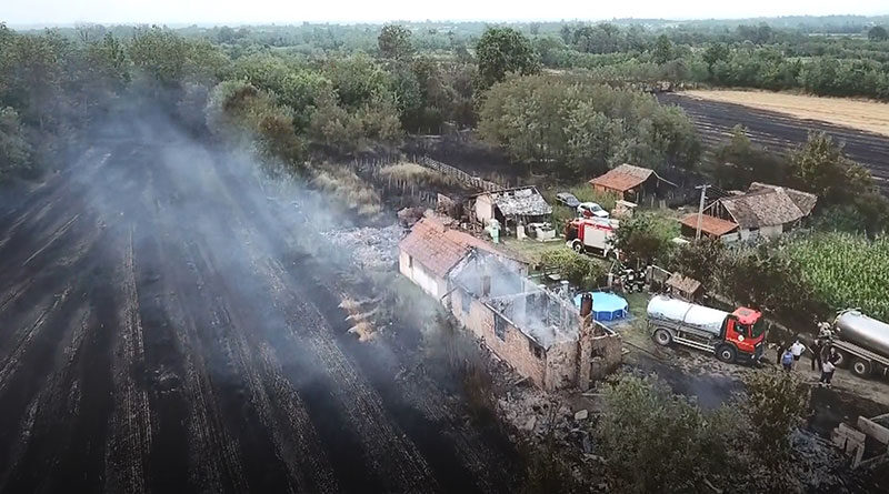 Porodici Radosavljević iz Stublenice požar uništio sve do temelja