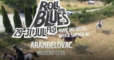 "Festival ""Roll & Blues"" u Aranđelovcu od 29. do 31. jula"