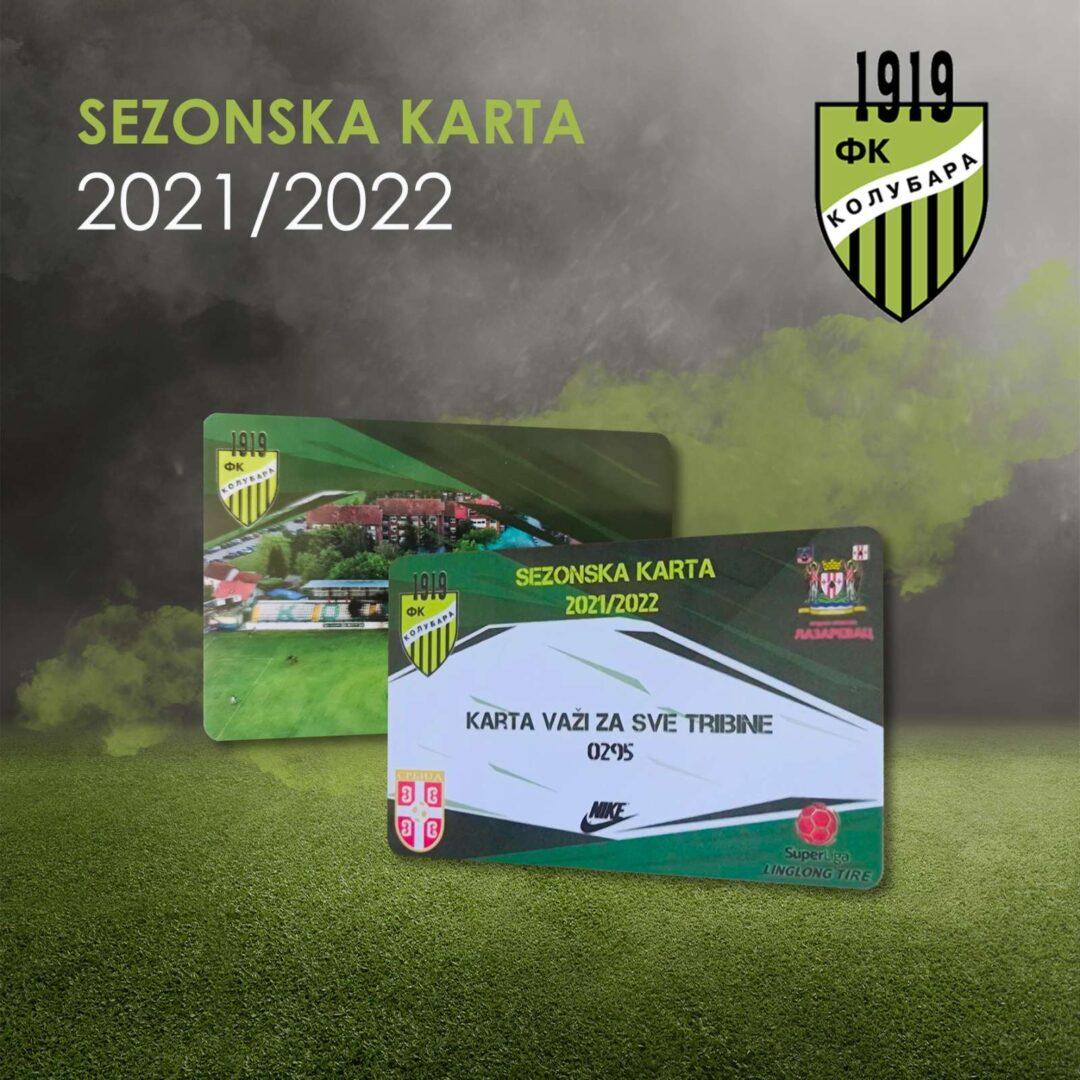 Sezonska karta FK Kolubara