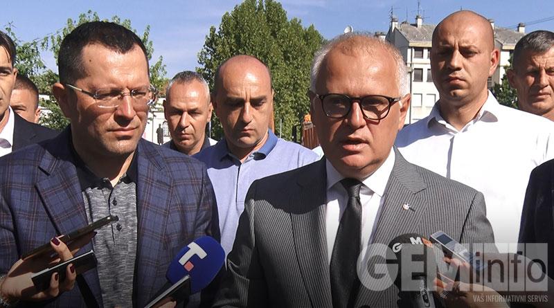 Goran Vesić, zamenik gradonačelnika Grada Beograda