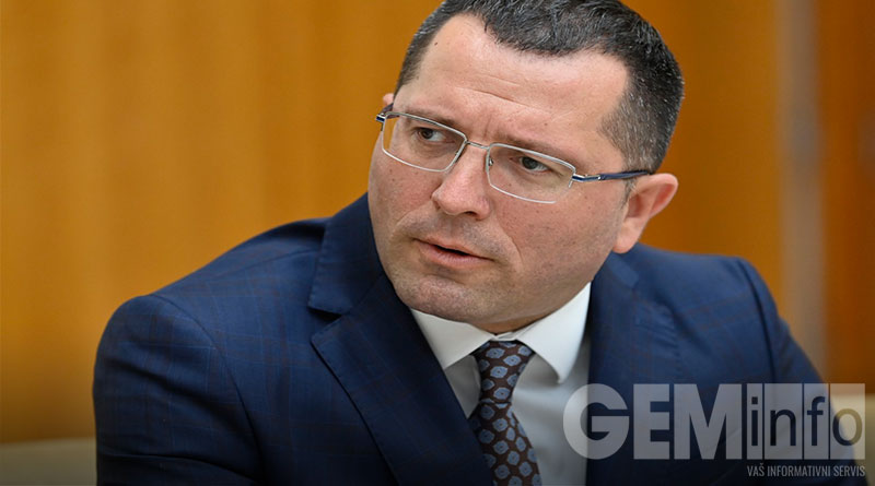 Bojan Stević, predsednik GO Lazarevac