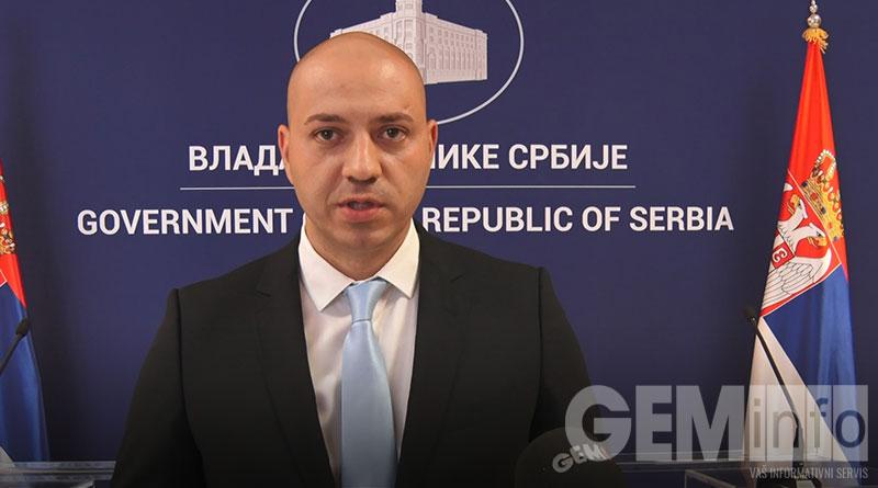Tomislav Rikanović, zamenik predsednika GO Lazarevac