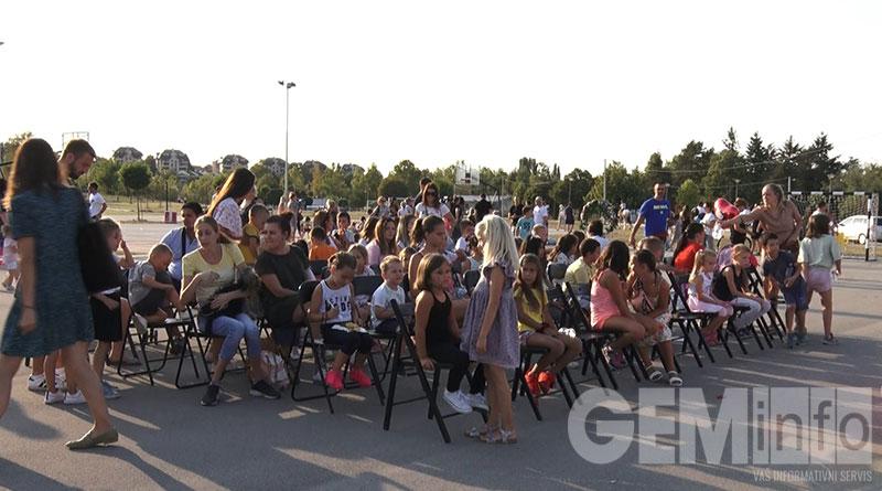 Predstava za decu u Gradskom parku
