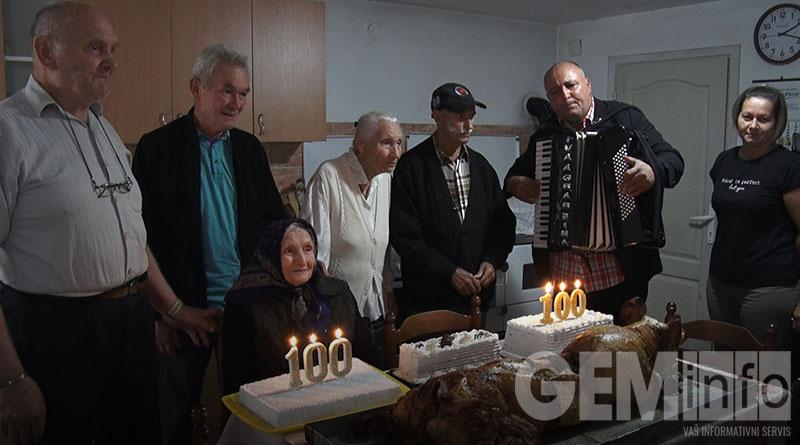 Stoti rođendan baka Mileve