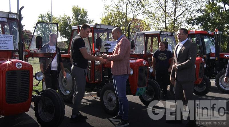 Dodeljeni ključevi traktora