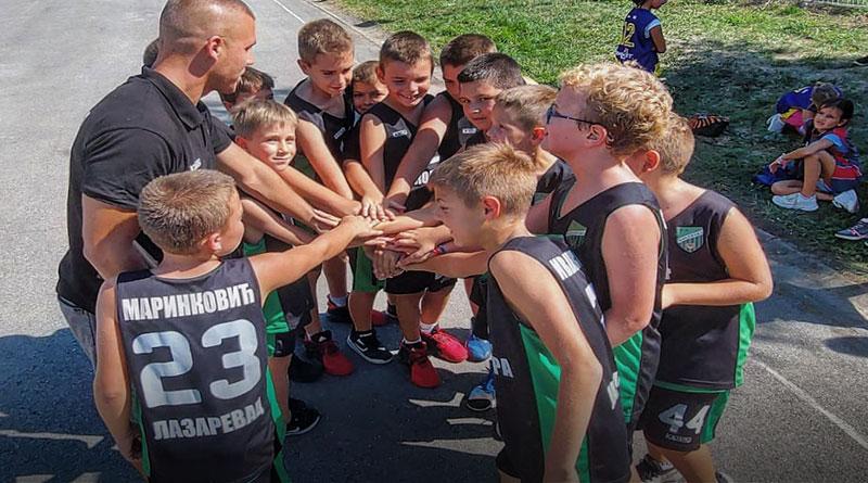 Mladi košarkaši Kolubare