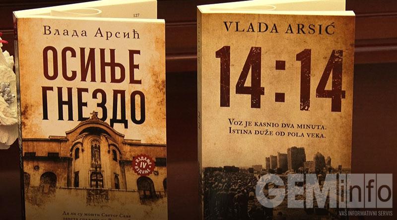 Promocija knjiga Vlade Arsića