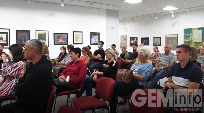 Publika u Modernoj galeriji