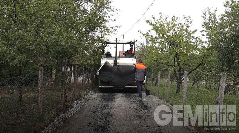Asfaltiran Miloševića sokak u Petki
