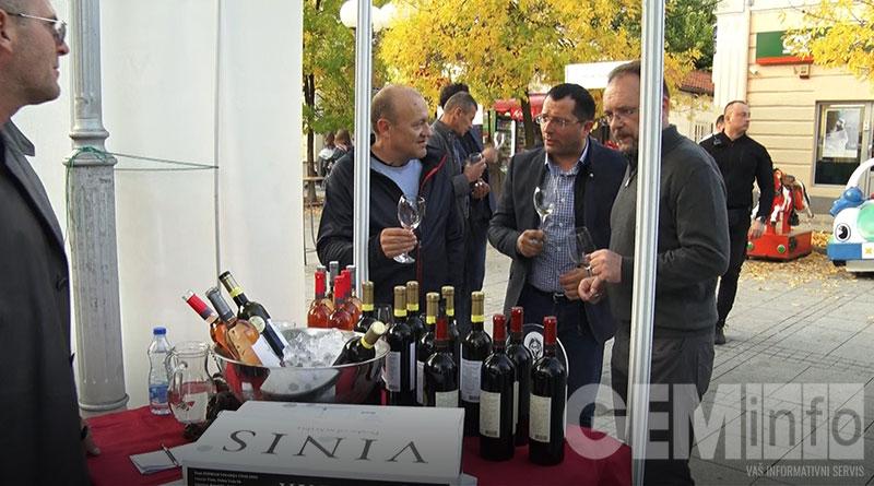 Stević na Festivalu vina
