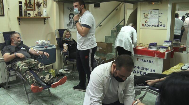 """Udruženje """"Ujedinjeni za Lazarevac"""" prikupilo 146 jedinica krvi"""